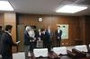 大学院博士課程3年瀧井美緒さんに学生表彰を行いました