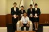 本学留学生に加東市外国人留学生奨学金が授与されました