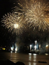 みなとこうべ海上花火大会観覧のため神戸ハーバーランドキャンパス講義室を開放しました