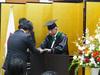 大学院連合学校教育学研究科学位記授与式を挙行しました