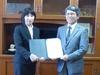 兵庫県立山崎高等学校と高大連携教育に関する協定を締結しました