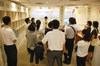 姫路市の学校教員43名が教材文化資料館「やっぱり大事!?ノート指導」展を見学しました