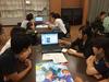 外国人留学生と県立兵庫高等学校創造科学1期生の生徒が交流授業を行いました