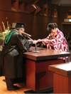 ダブルディグリープログラム修了証書の授与が行われました