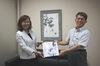 国立台湾芸術大学劉素真准教授より絵画が寄贈されました