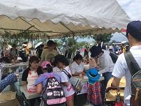 北播磨生活応援団主催「夏空の雪遊び」にボランティアとして参加しました