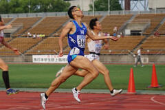 西日本学生陸上競技対校選手権大会 男子400mで本学学生が優勝しました