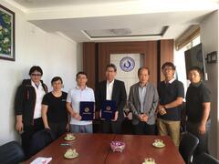 モンゴル国立教育大学体育学校と共同研究に関する覚書を取り交わしました