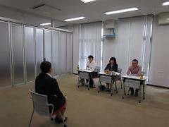 教員・保育士採用試験対策模擬面接(個人面接)を開催しました