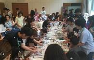 兵庫陶芸美術館主催「夏休み!1日まるごと子どもの日」にボランティアとして参加しました