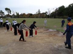 嬉野台地区消防訓練を実施しました