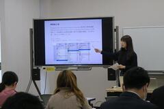 外国人留学生特別聴講学生研究成果発表会を開催しました
