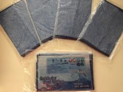 加東市から折りたたみ日傘とアイスタオルのご支援をいただきました
