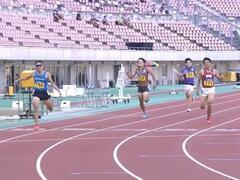 日本学生陸上競技対校選手権大会男子400mで本学学生が7位に入賞しました