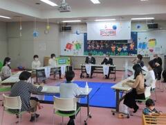 子育て支援ルーム「かとうGENKi」で北播磨新地域ビジョンの策定にかかる「ビジョンを語る会」を開催しました