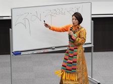 ボランティアステーション主催講演会「日本とチベット,異文化を超えて」を開催しました