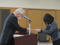 令和2年度兵庫教育大学学生表彰を行いました