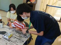 兵庫陶芸美術館「夏休み!1日まるごと子どもの日」に学生ボランティアが参加しました