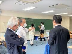 加田裕之参議院議員が加東キャンパスを訪問されました