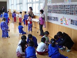 公開授業(1年生・生活)